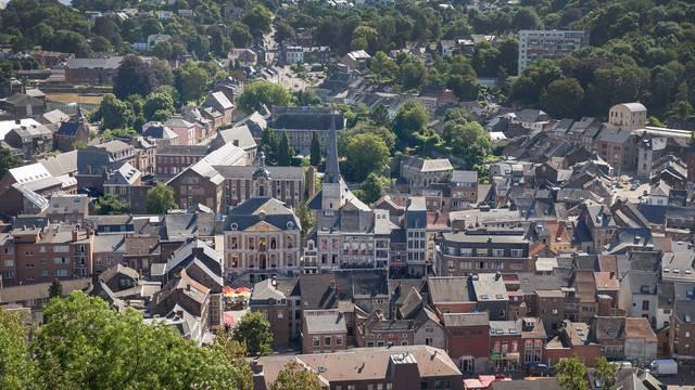 Vue de la ville de Huy - © WBT - David Samyn