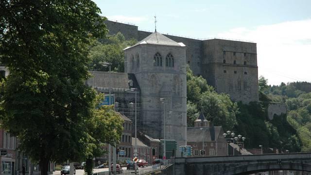 Collégiale, Fort et Pont Roi Baudouin à Huy