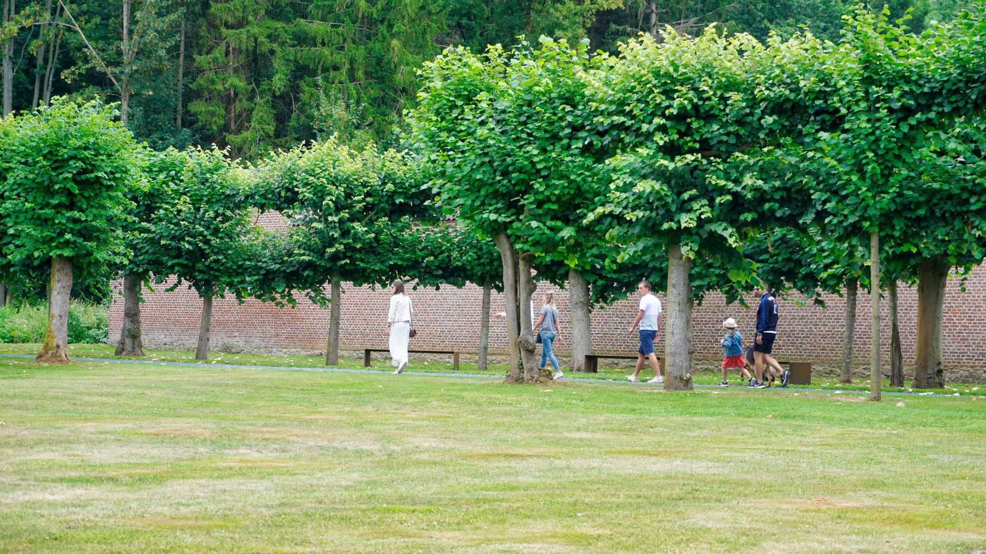 Parc du château de Jehay