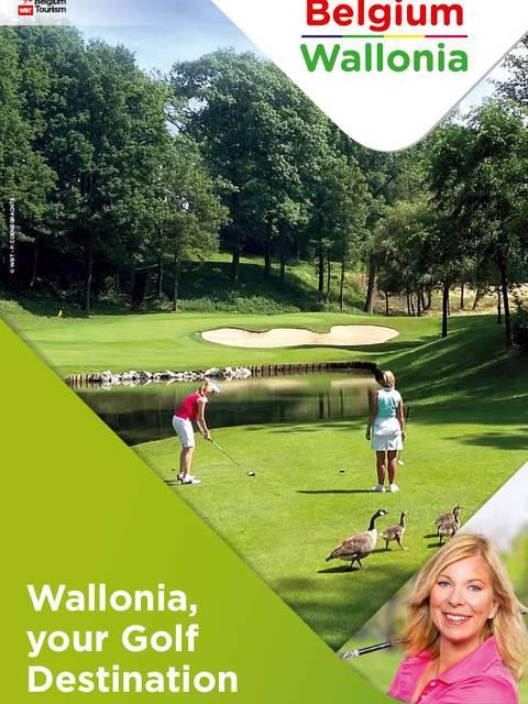 Brochure sur le golf