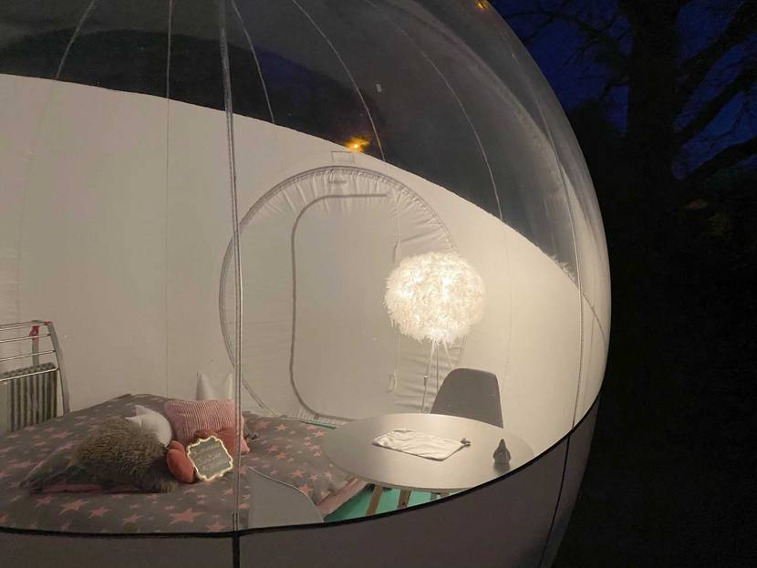 Sleep in a Bubble