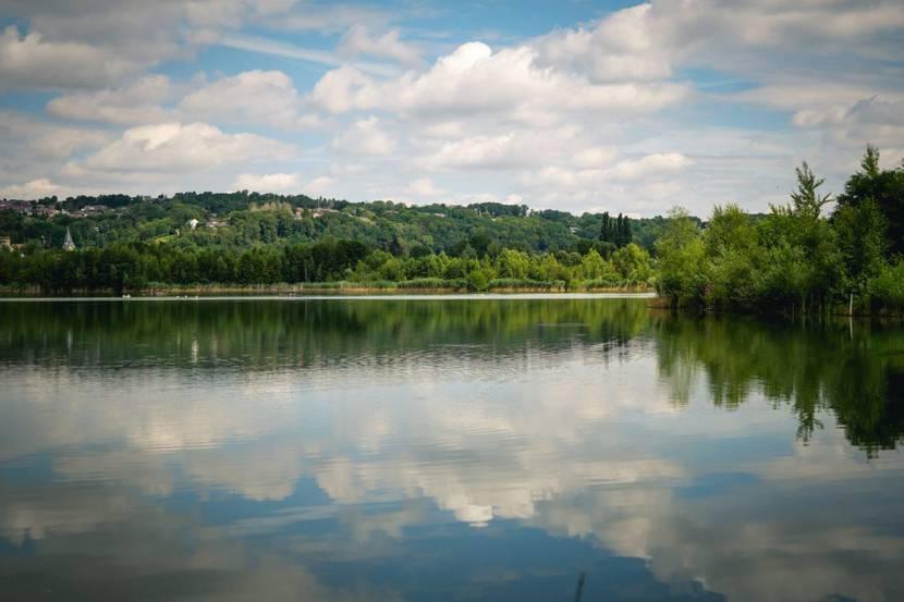 Lac de la Gravière à Amay