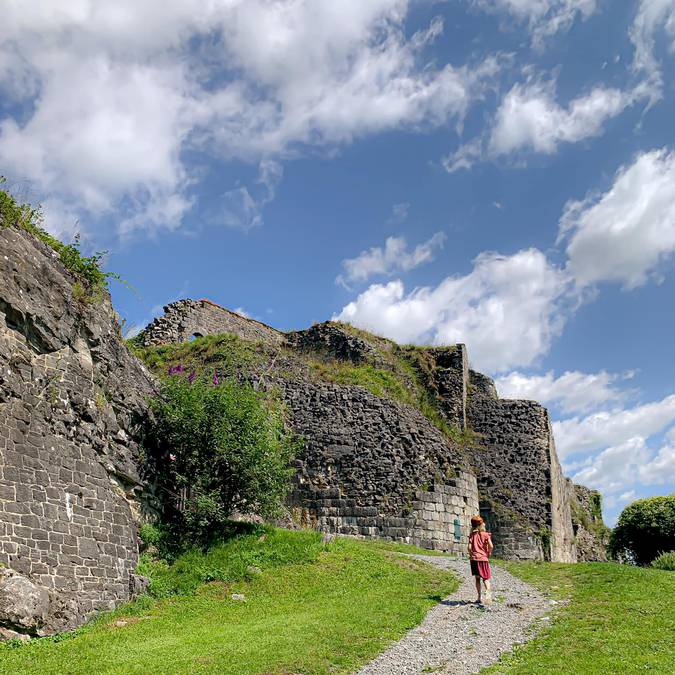 Château féodal de Moha