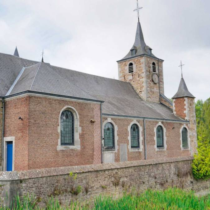 Eglise du château de Jehay