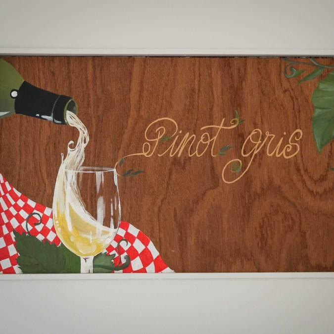 Panneau vin Pinot